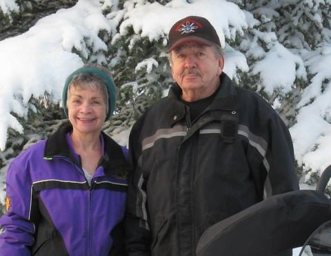 <h6>Original owners/builders of the cabin on Cub Lake</h6>